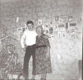 My dad Thomas Paige and his grandmother Maybelle
